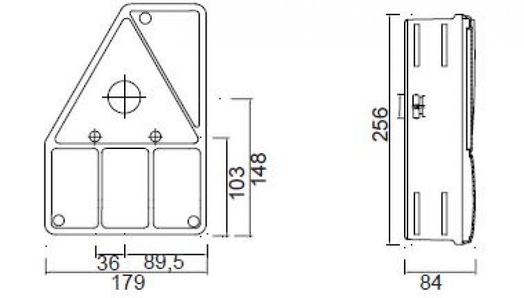 Montageschiene zu Aspöck Earpoint